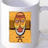 Mug Tribal Mask