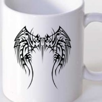 Mug Tribal Symbol