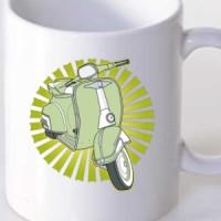 Mug Vespa Motor