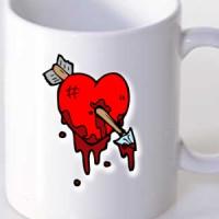 Mug Wounded heart