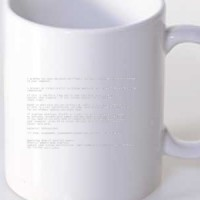 Mug Xp Blue Screen