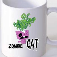 Mug Zombie Cat