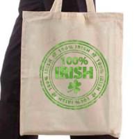 Shopping bag 100% Irish
