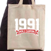 Shopping bag 1991 Champions Of The World