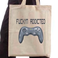 Shopping bag Addicted To Games
