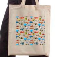 Shopping bag Aeroplanes