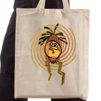 Shopping bag African Tribal Face