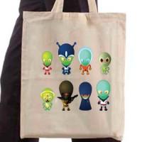 Shopping bag Aliens