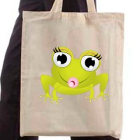 Shopping bag Baby Frog