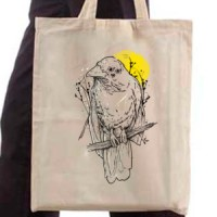 Shopping bag Bird on a tree