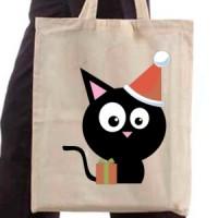 Shopping bag Black Pussy