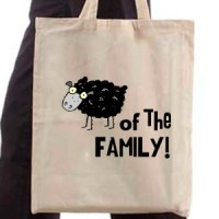 Shopping bag Black Sheep Of The Family