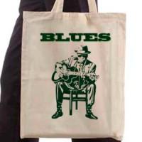 Shopping bag Blues