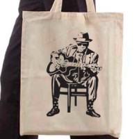Shopping bag Bluesman