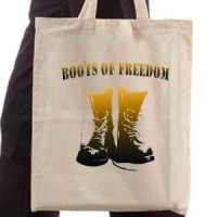 Shopping bag Boots Of Freedom