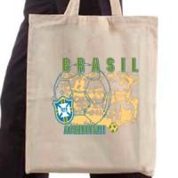 Shopping bag Brasil Football
