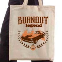Shopping bag Burnout Legend