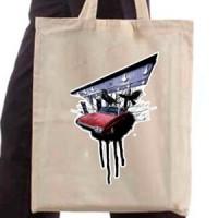 Shopping bag Car Under The Bridge