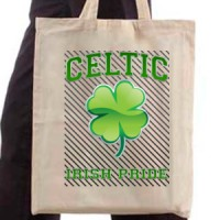 Shopping bag Celtic Shamrock