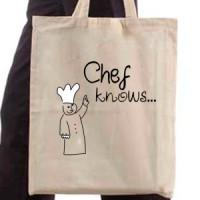 Shopping bag Chef