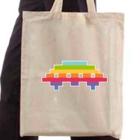 Shopping bag Colorful Flying Saucer
