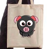 Shopping bag Cute Little Piggy