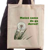 Shopping bag Dandelion - you can blow it