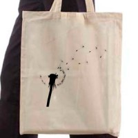 Shopping bag Dandelion