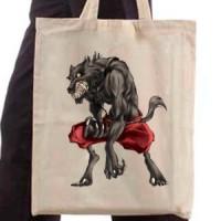 Shopping bag Dangerous Werewolf