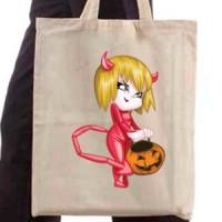 Shopping bag Devil Girl