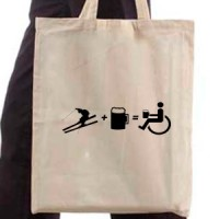 Shopping bag Do Not Drink And Ski