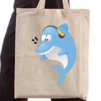Shopping bag Dolphin
