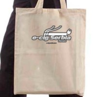 Shopping bag E-cig serbia forum basic logo