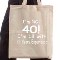 Shopping bag Expirience