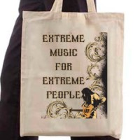 Shopping bag Extreme Music