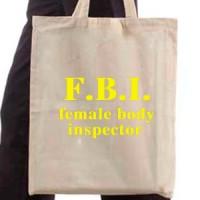 Shopping bag Fbi