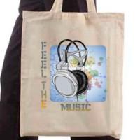 Shopping bag Feel the music