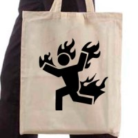 Shopping bag Fireman 01