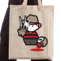 Shopping bag Freddy Kruger
