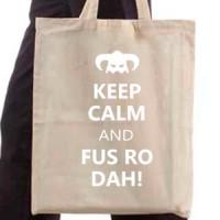 Shopping bag Fus Ro Dah!
