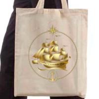 Shopping bag Golden Boat