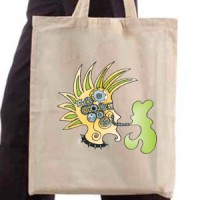 Shopping bag Green punk