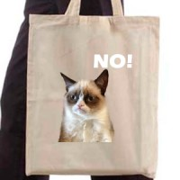 Shopping bag Grumpy cat