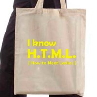Shopping bag H.T.M.L.
