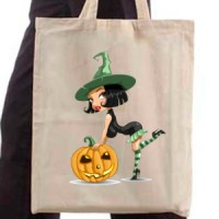Shopping bag Halloween Witch