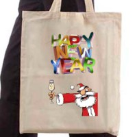 Shopping bag Happy New Year | New Year