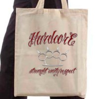 Shopping bag Hard Core