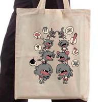 Shopping bag Hate