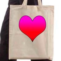 Shopping bag Heart