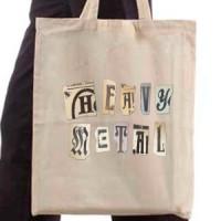 Shopping bag Heavy Metal
